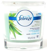 Febreze Meadows & Rain Air Freshener Dual Wick Jar Candle 4.3oz Jar