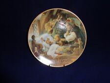 Knowles 1991 Porcelain Plate-Goldilocks & The Three Bears