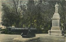 1906 Military Cannon Soldiers Monument Los Angeles California Newman 8251