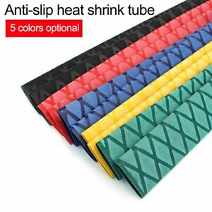 Seat Tubing Shrink Tube Wrap DIY Non Slip Grips Anti-Static For Fishing Rod 1m