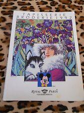 CATALOGUE - tapisserie broderie 1992- Royal Paris