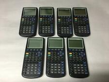FOR PARTS OR REPAIR LOT OF 7 X TEXAS INSTRUMENTS TI-83 GRAPHING CALCULATOR