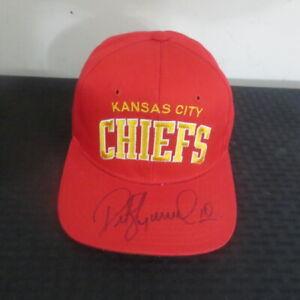 Pete Stoyanovich Kansas City Chiefs/Miami Dolphins Autograph Cap