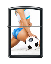 ZIPPO - From Behind Football Girl - Pin Up Girl - New and Sealed