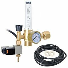 CO2 Regulator With Solenoid Valve And Flow-Meter Emitter. C02 Emitter For And