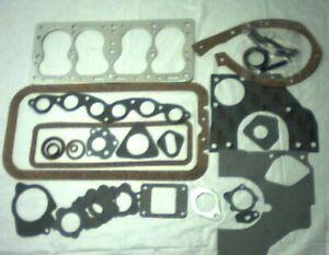 Full set Gaskets 134 L Head Willys Overland Kaiser Henry J 1940-1964 ROL Brand