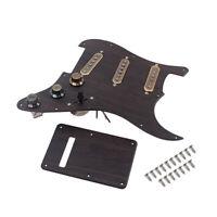 3Ply Prewired Loaded SSS Guitar Pickguard Alnico V Pickups Sets for ST Strat US