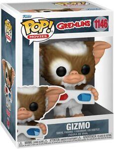 Funko Pop! Movies: Gremlins - Gizmo w/3D Glasses Vinyl Figure