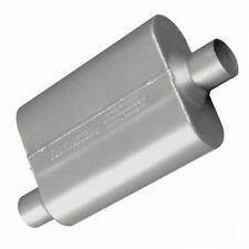 """Flowmaster 42441 40 Series Muffler, 2.25"""" Offset In/2.25"""" Center Out, Aggr Sound"""