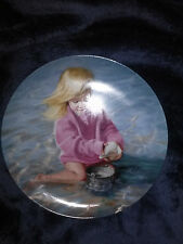 """7.5"""" collector's plate """"SUMMER'S CHILD"""" by Donald Zolan Pemberton & Oakes 1989"""