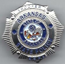 ARKANSAS STATE POLICE METAL LAPEL PIN - MADE IN THE USA!!!