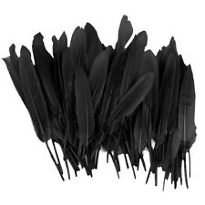 Wholesale 100Pcs Beautiful Natural Goose Feathers 4-6''/10-15cm DIY Crafts Decor