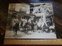 Kambayashi Hotel Onsen Senjukaku 1947 Vintage B&W Photo Army Occupied Japan