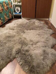 shipskin rug Dunelm £169 .