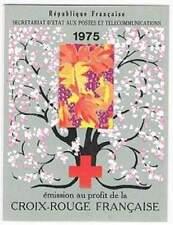 Frankrijk booklet postfris 1975 MHN 1942-1943 - Rode Kruis / Red Cross (K028)