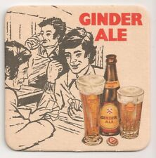 """Ginder Ale - Ancien sous-bock / bierviltje """"jeu de cartes"""""""
