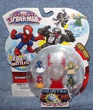 MARVEL ULTIMATE SPIDER-MAN SERIES 1 FIGHTER PODS 4 PACK SET #6