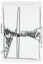 ANDY WARHOL IIIB.2: WASHINGTON MONUMENT SCREENPRINT ON WALLPAPER ESTATE STAMPED