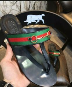 Authentic Gucci Thong Sandals size 8