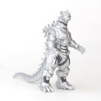 New Silver Godzilla King Of The Monsters Mechagodzilla Action Figure Toys Xmas