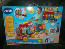 VTech Sit-to-Stand Ultimate Alphabet Train 260+ songs melodies 10 activities New