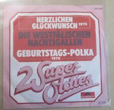 """7"""" Vinyl 2 Super Oldies, Die Westfälischen Nachtigallen """"Herzlichen Glückw.,Ge """""""