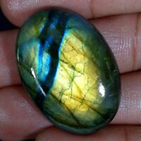 BEST SALE 100% NATURAL FIRE SPECTROLITE LABRADORITE OVAL CABOCHON LOOSE GEMSTONE