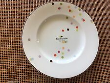 "Kate Spade New York Market Street 9"" Accent Plates Set of FOUR  * 8  available"