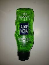 Aloe Vera Max Block After Sun Soothing Gel Moisturizing Relief 9.7oz