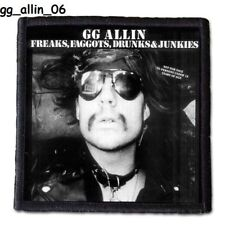 GG ALLIN  Patch 4x4 inches (10x10 cm) new