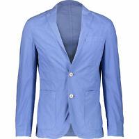 HACKETT Men's Blue Lightweight Poplin Blazer, size 42 R