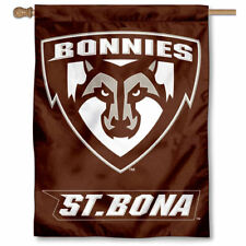 St. Bonaventure Bonnies Two Sided House Flag