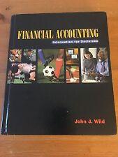 Financial Accounting by John J. Wild (1999, Hardcover) : John J. Wild (1999)