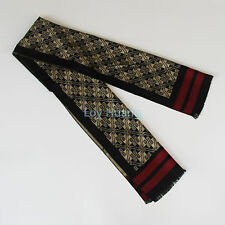 Man's Fashion Winter Silk Scarf Winter Warm Checks Scarves