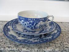 TASSE DE COLLECTION Porcelaine Japonaise FLEURS TON BLEU Moyen Modèle