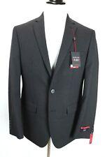 Van Heusen Flex Slim Fit Stretch Maroon Charcoal Blazer Coat Jacket Mens 40r