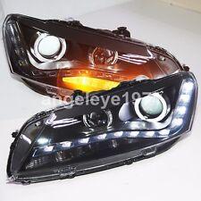 LED Angel eyes Lights 2011 to 2014 year For VW Passat V6 B7 LED Head Lamps LD