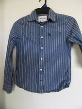 Abercrombie & Fitch Long Sleeve Youth's Muscle Button Shirt L