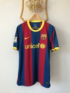 FC BARCELONA 2010 2011 HOME FOOTBALL SOCCER SHIRT JERSEY NIKE ADULT CAMISETA (M)
