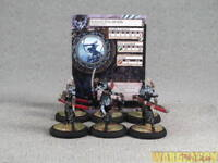 30mm Hordes WDS painted Legion of Everblight Blighted Archers Unit q22
