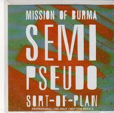 (ED903) Mission Of Burma, Semi Pseudo Sort Of Plan - 2012 DJ CD