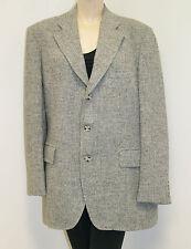 Vintage ATOMIC Men's Harris Tweed Jacket Blazer Sport Coat 60's Rockabilly 42/44