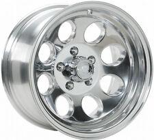 "(5) 15"" ION 171 Polished Wheels Rims 5x4.5 5x114.3 Jeep Wrangler TJ YJ Set of 5"