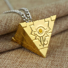 Yugioh Millenium Puzzle Yugi Muto Cosplay Gold Pendant Necklace Yu-gi-oh Cosplay