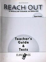 REACH OUT, A MODULAR  COURSE IN ENGLISH  Newbold  TEACHER'S GUIDE & TESTS