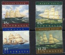 AUSTRALIA STAMPS 1998 SHIP PAINTINGS SG1727/30 MINT NEVER HINGED