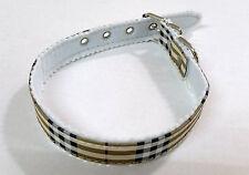 Hundehalsband Karo Design Hund Hunde Halsband Kariert 40 cm