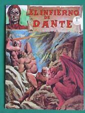 1972 EL INFIERNO DE DANTE Horror DEVIL BEAUTIFUL COVER SPANISH MEXICAN COMIC