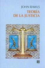 TEORIA DE LA JUSTICIA, POR: JOHN RAWLS