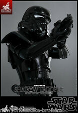 "Sideshow Hot Toys Exclusive Star Wars Shadow Trooper 12"" NIB Eps IV A New Hope !"